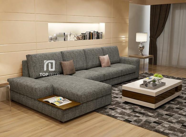 Sofa góc nỉ T001 ,1