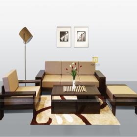 Bộ sofa văng gỗ T136