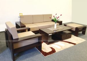 Bộ sofa văng gỗ T136 ,2