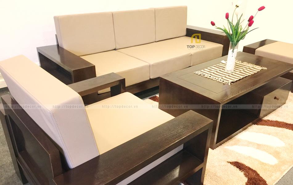 Bộ sofa văng gỗ T136 ,4