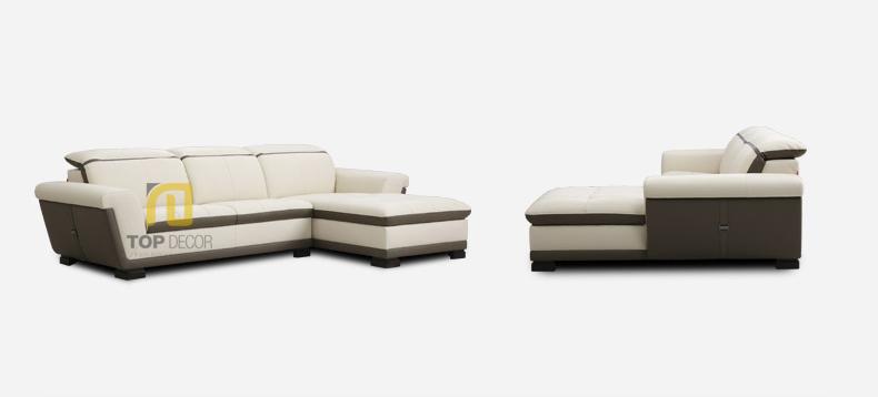 Sofa văng da T009 ,5