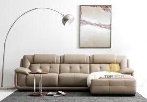Sofa da gỗ Sồi T010 ,1