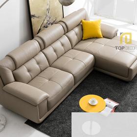 Sofa da gỗ Sồi T010