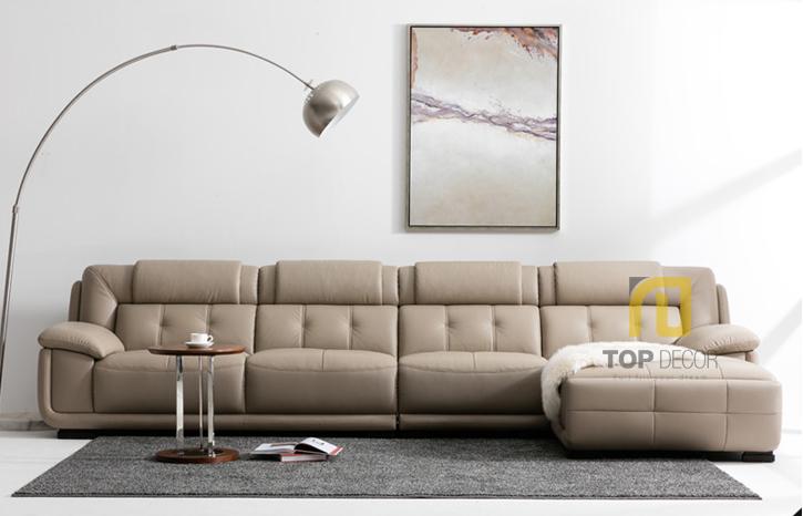 Sofa da gỗ Sồi T010 ,3