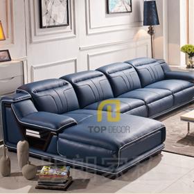 Sofa da Hàn Quốc gỗ Sồi T021
