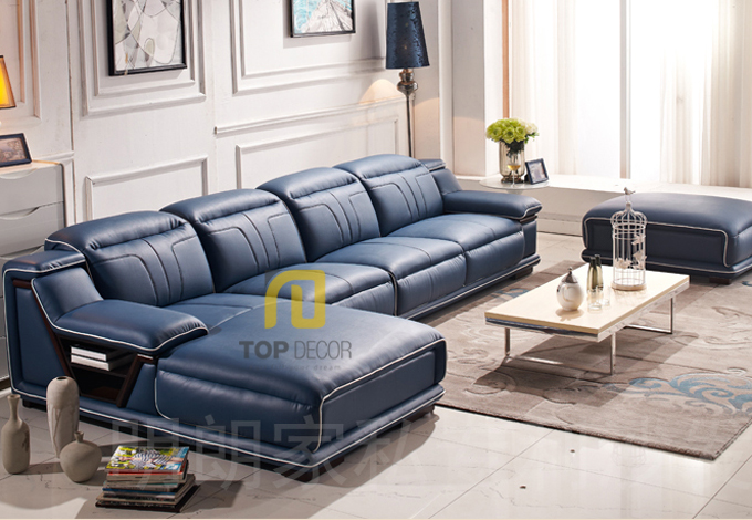Sofa da Hàn Quốc gỗ Sồi T021 ,1