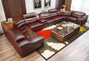 Sofa gỗ Sồi T017 ,1