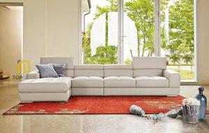 Sofa gỗ Sồi da Hàn Quốc T016 ,3