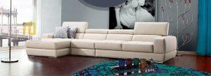 Sofa gỗ Sồi da Hàn Quốc T016 ,2