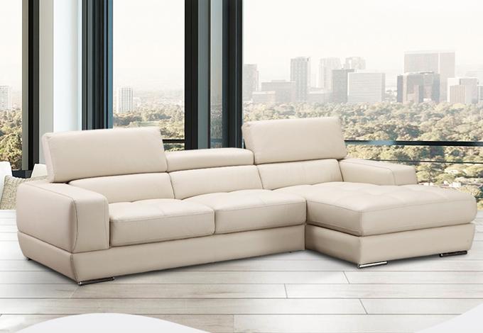 Sofa gỗ Sồi da Hàn Quốc T016 ,1