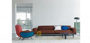 Sofa gỗ Sồi Nga T020 ,3