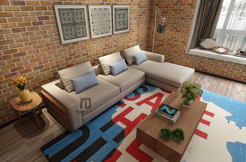 Sofa góc T003 nỉ Hàn Quốc ,1