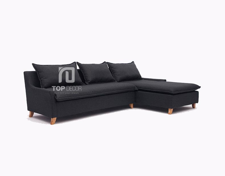 Sofa góc T013 nỉ Hàn Quốc ,1