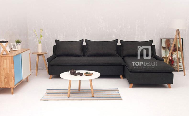 Sofa góc T013 nỉ Hàn Quốc ,2