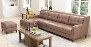 Sofa góc T014 da Hàn Quốc ,5