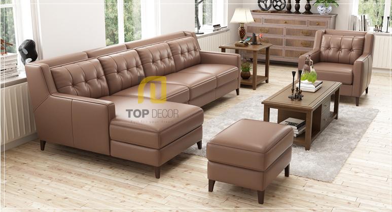 Sofa góc T014 da Hàn Quốc ,4