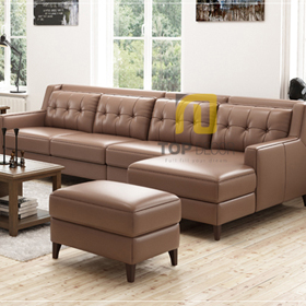 Sofa góc T014 da Hàn Quốc