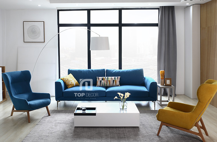 Sofa văng nỉ Hàn Quốc T023 ,1