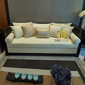 Sofa văng gỗ Sồi T060