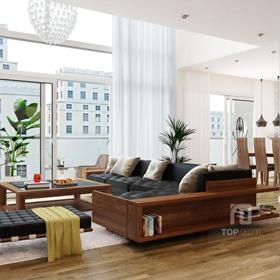 Sofa gỗ T128