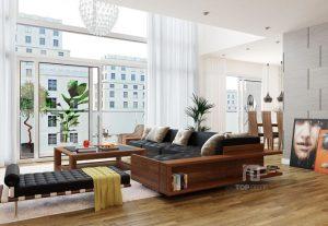 Sofa gỗ T128 ,1