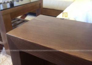 Sofa gỗ góc đệm T125 ,4