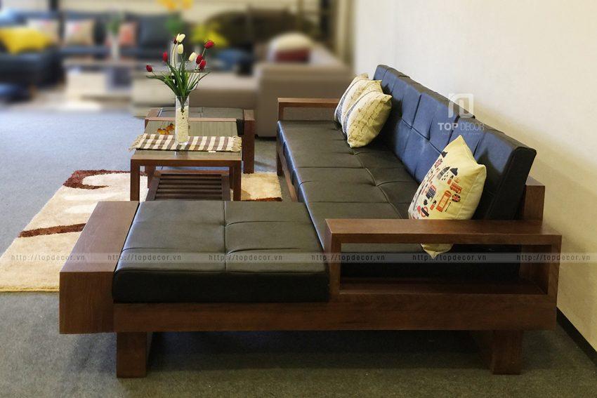 Bạn sẽ lựa chọn kiểu dáng sofa gỗ nào cho phòng khách?