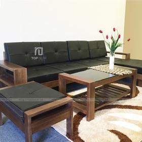 Bộ sofa gỗ góc T133