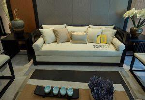 Sofa văng gỗ Sồi T060 ,5