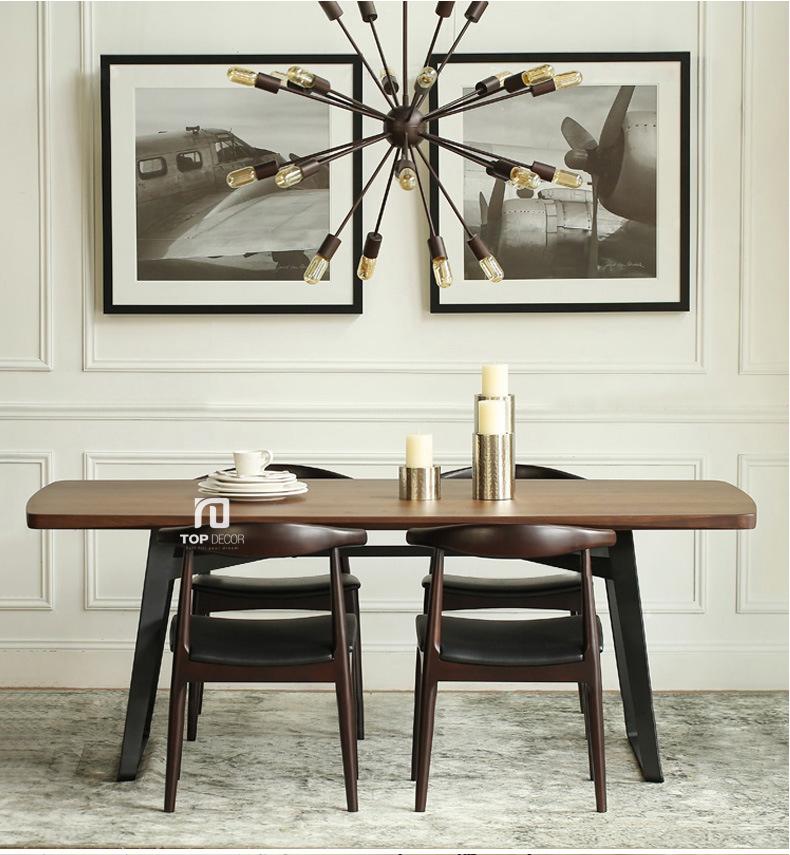 Bộ bàn ăn 4 ghế hiện đại TB002 ,5