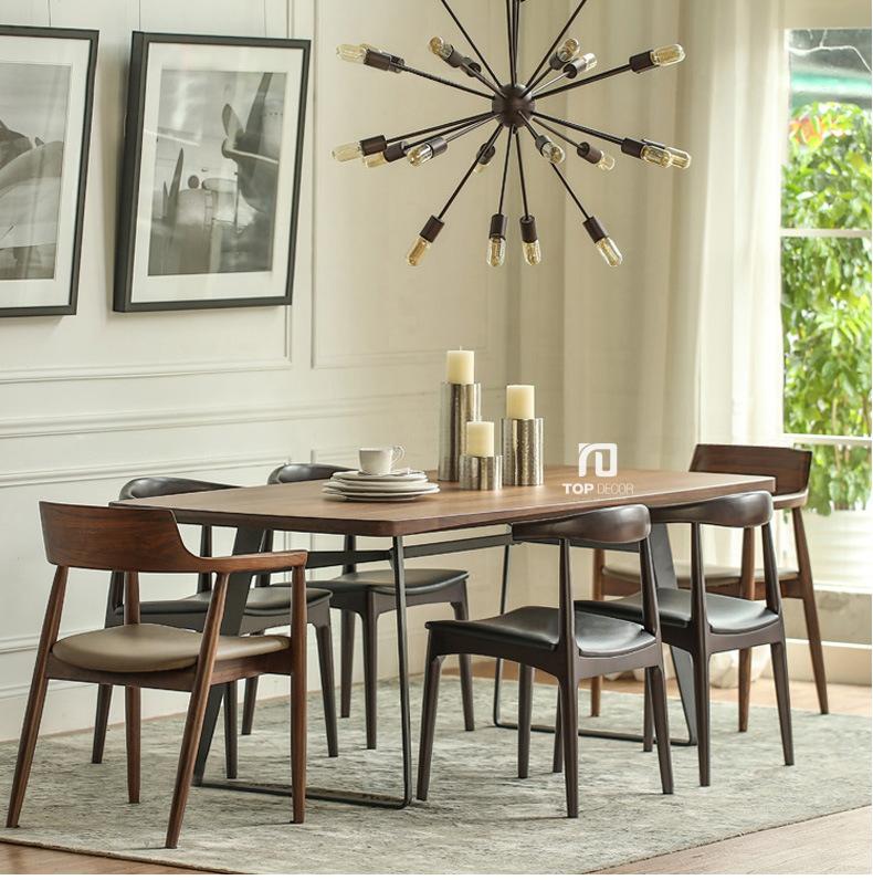 Bộ bàn ăn 4 ghế hiện đại TB002 ,2