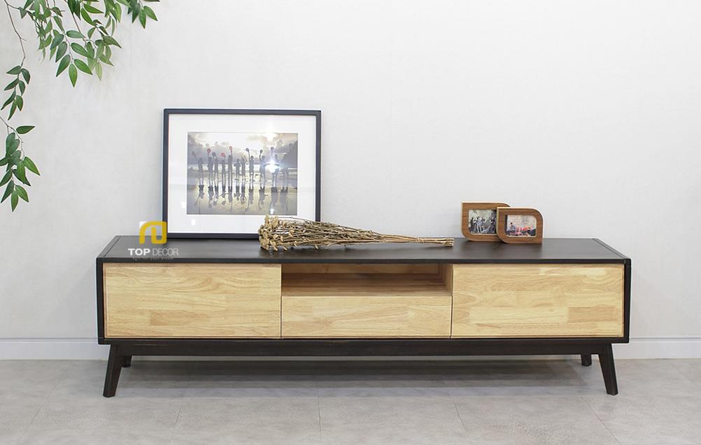 Kệ tivi gỗ phòng khách T404 ,4