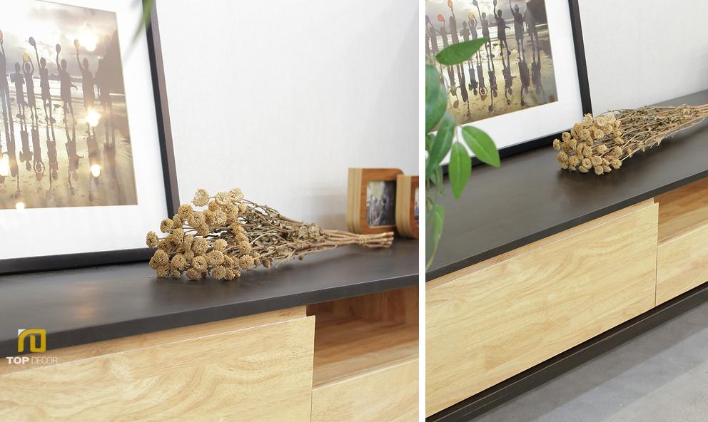 Kệ tivi gỗ phòng khách T404 ,2