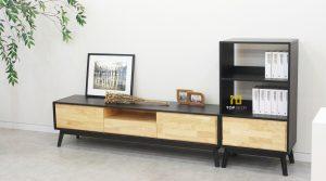 Kệ tivi gỗ phòng khách T404 ,1