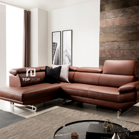 Sofa da góc Hàn Quốc T032