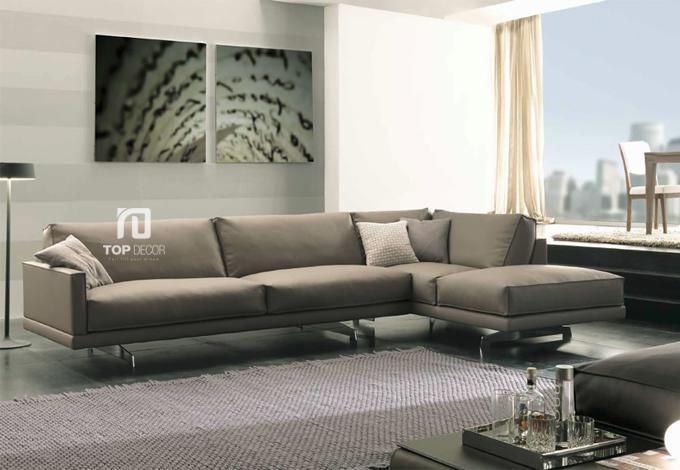 Sofa góc da Hàn Quốc T028