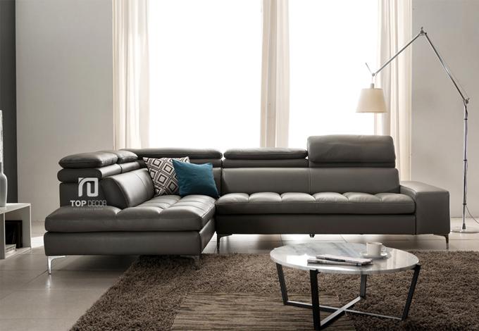 Sofa góc Hàn Quốc tựa gật gù T030