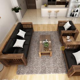 Bộ sofa gỗ đối diện T150