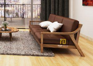 Sofa gỗ đệm T139 ,4