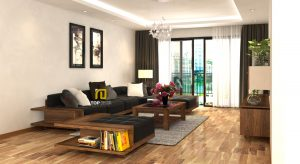 Sofa gỗ đệm da Hàn Quốc T146 ,1
