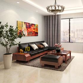 Sofa gỗ đệm T151