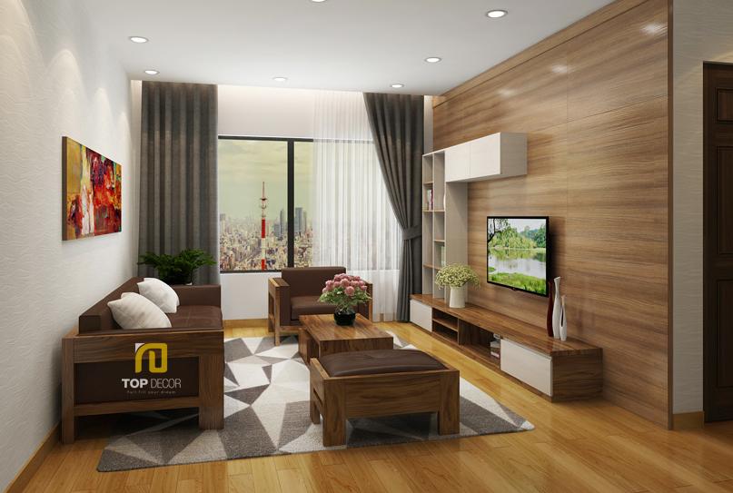 Sofa gỗ Sồi da Anh T156 ,2