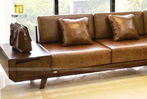 Sofa gỗ T142 ,3