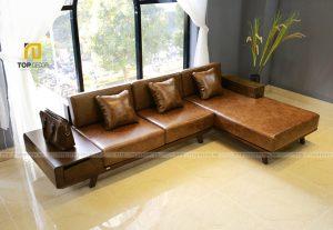 Sofa gỗ T142 ,1
