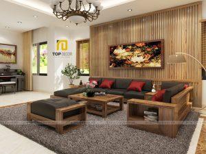 Sofa gỗ T161 ,5