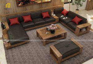Sofa gỗ T161 ,1