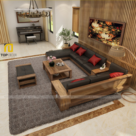 Sofa gỗ T161