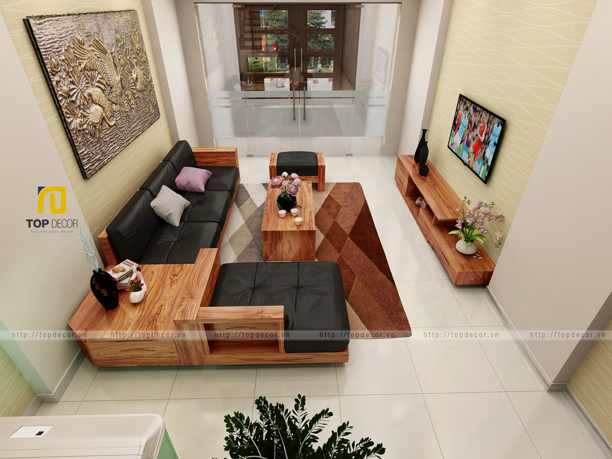 Sofa gỗ T162 ,4