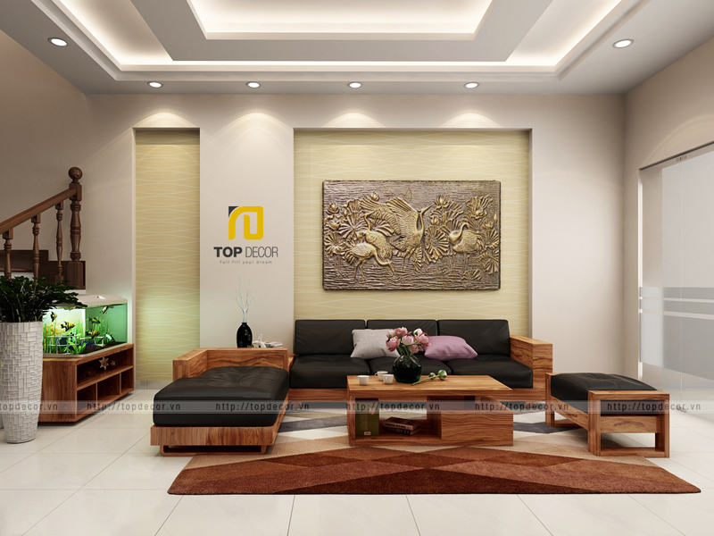 Sofa gỗ T162 ,3