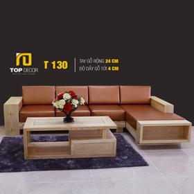 Sofa gỗ hiện đại T130